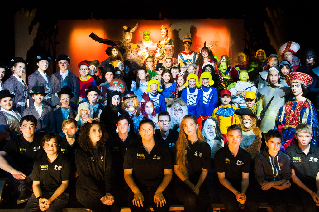 Nepean Christian School Cast and Crew for Shrek